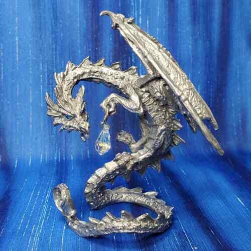 Nightwatch Dragon Pewter Figurine Rawcliffe US Made *NEW*