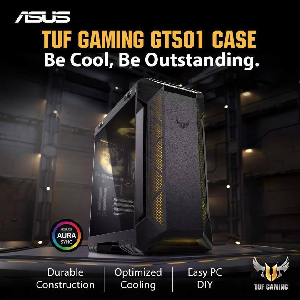 ASUS GT501 TUF Custom Gaming PC i7/i9/R7-3700X 32/64GB RTX20