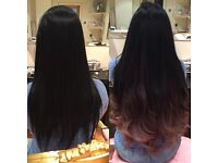 Russian Hair Extensions (Mini micro rings) 20inches Full Head from £265 - Mobile & Salon based