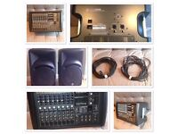 PA System (Mackie c300z & PM1008 mixer) FOR SALE