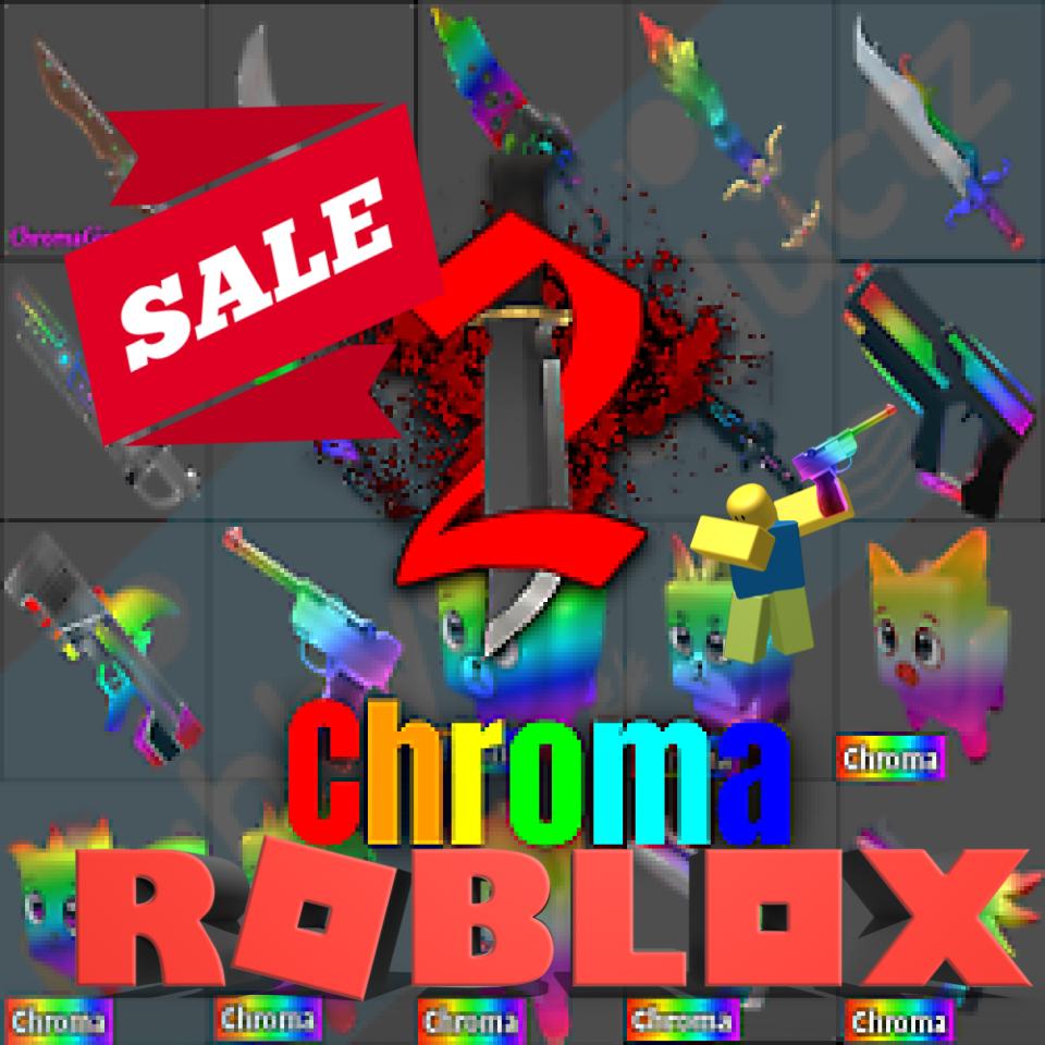 🔥💎🔪 Roblox Murder Mystery 2 MM2 Chromas Chroma Kniv