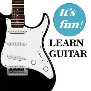 Learn to Play Guitar Today!