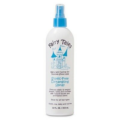 Fairy Tales Static Free Leave in Detangling Spray 12 (Static Free Leave)