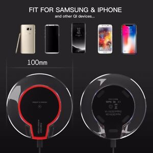 New Qi Standard Fast Wireless Charger for Smartphones