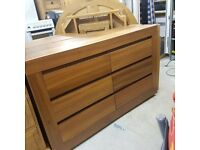 Chest of 6 drawers + 2 x bedside