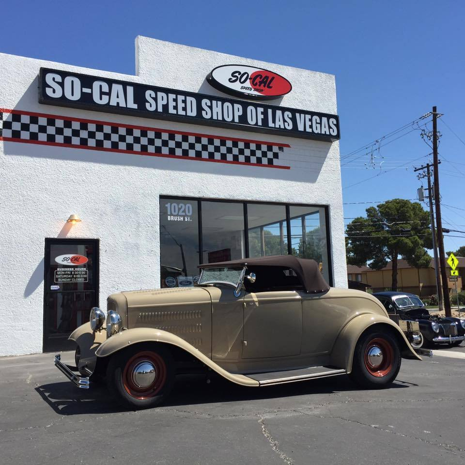 SO-CAL SPEED SHOP LAS VEGAS