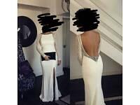 White prom/formal dress