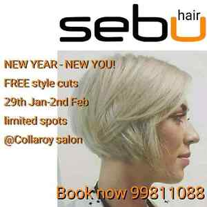 Free Stylecut limited spots left Collaroy Manly Area Preview