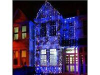 Wedding Hosue lights . Led lights . Bright lights . Flashing lights . House lights . Weddings