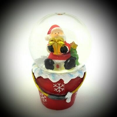 Snow Ball Globe Glass New Year Home Decor Collectible Item & Gift 018 (New Year Decoration Items)