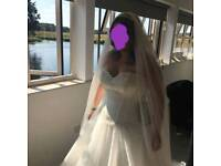 Sincerity Princess Wedding dress 16-20 (shape dependant)