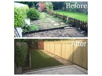 evergreen landscapes patios lawns walls decking etc home number 01616609575