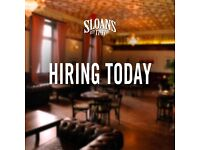 City Centre Bars looking for Full Time waiting & Bar staff