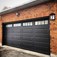 8x7 INSULATED GARAGE DOORS....... FROM $850 INSTALLED