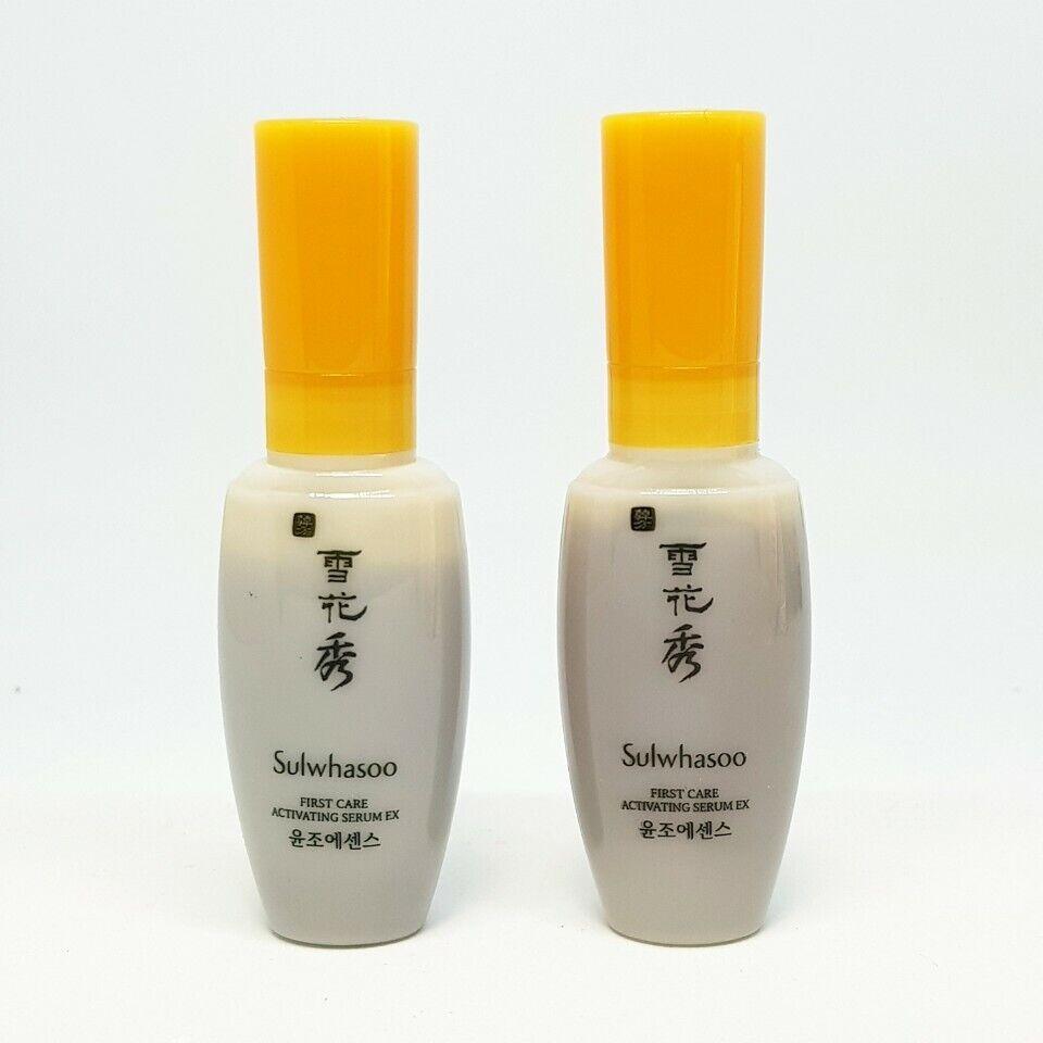Sulwhasoo First Care Activating Serum EX 8ml x 2pcs Mini Travel Essence K-Beauty