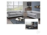 😘 ROYAL CHESTERFIELD 3 + 2 SEATER SOFA AVAILABLE 😘