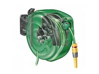 Hose lock reel wall mounted 40 meters