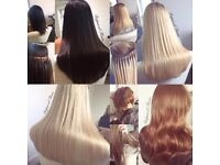 Micro Ring & Mini Link Hair Extensions - Weft & Individuals
