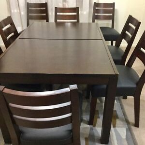 Wonderful Extendable 8 chair Dining Set Pagewood Botany Bay Area Preview