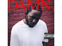 Kendrick Lamar DAMN Tour (x2 Tickets at the SSE Hydro, Glasgow)