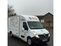 ** PROFESSIONAL MAN & VAN HIRE *** REMOVALS / SINGLE ITEMS / HOUSE CLEARANCE