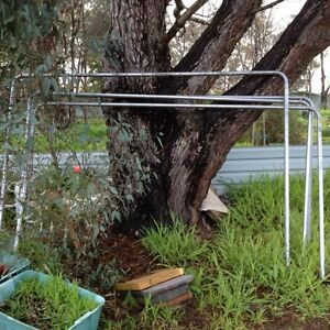 Large solid clothes racks, child swing pole, dog  chook pen Laharum Horsham Area Preview