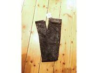 NEW ASOS dark acid wash skinny jeans, w24