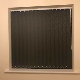 Dark Grey Vertical Blind