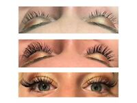 Affordable beauty Treatments - eyelash extensions, lash & brow tinting, threading & gel nails