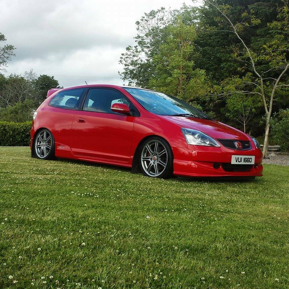 honda civic type r ep3 2005 big spec milano red hpi clear in cookstown county. Black Bedroom Furniture Sets. Home Design Ideas