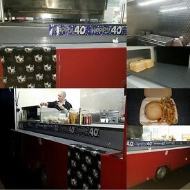 catering trailer /burger van