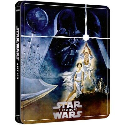 Star Wars IV : A New Hope 4k Steelbook Zavvi Exclusive NEW  SOLD OUT!!!