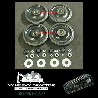 2238396 223-8396 Front Idler Wheel Kit 14 X4 Caterpillar 247 257 247b 257b Cat