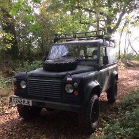 Ex Military Land Rover Defender 90