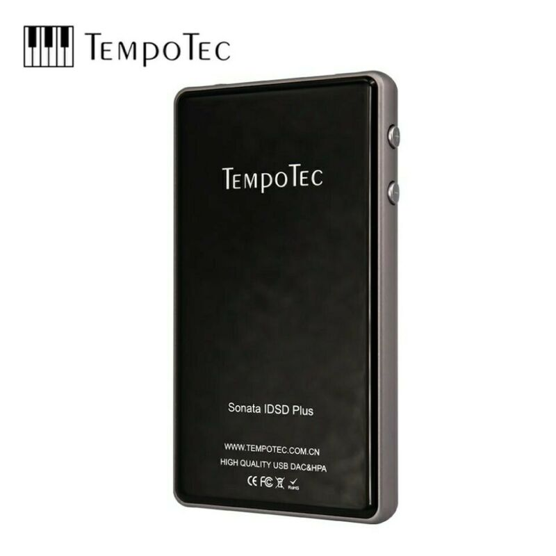 Tempotec Sonata IDSD Plus DAC Amplifier for iPhone or Android