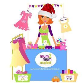 Hampton Mum2mum Market Baby and Children Nearly New Sale