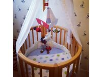 Stokke crib/cot cot bed