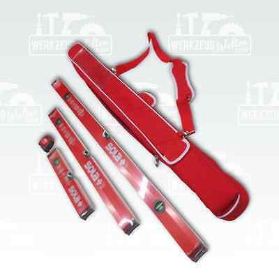 Sola Big X3 Profi-Wasserwaagen-3er Set, beste Qualität in Länge 40/80/120cm