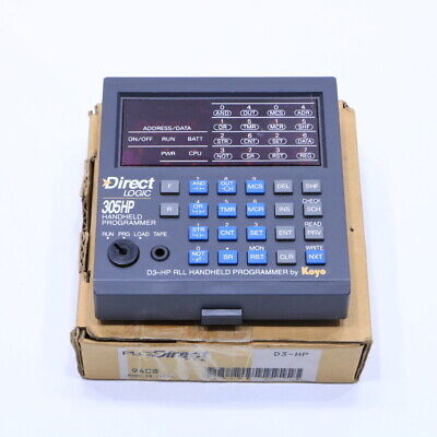 New Automation Direct Logic 305hp D3-hp Handheld Programmer