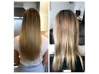 Hair extensions | 50£ | Russian/Mongolian Hair | Same day service | nano rings | micro rings |