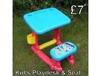 Childs Desk & Seat - Paw Patrol