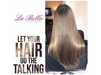 La Bella Tiny Nano Tip Hair Extensions European Hair
