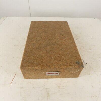 Starrett 12 X 18 X 4-12 Pink Granite Surface Plate
