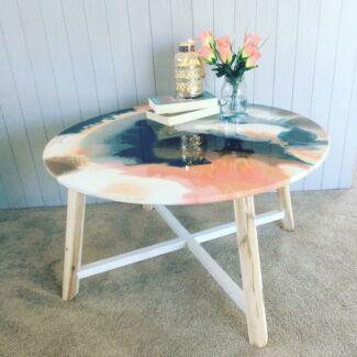 Resin Art Freedom Coffee Table