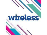Wireless festival Saturday + Sunday tickets