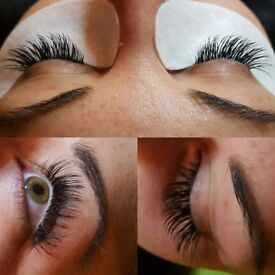 Eyelash Extensions ONLY £40 including FREE Eyebrow Shape