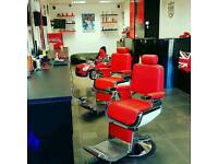 Barber chairs wanted