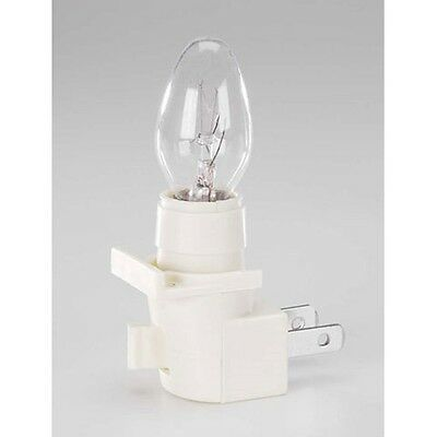 Darice Cream/Beige Night Light with on/off switch and Clear Bulb #1015-44](Halloween Night Light Bulbs)
