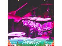 LED Percussionist (Bongos, Congas, Latin Percussion)