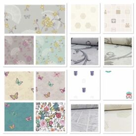 Bargain price wallpaper only £3.99 per roll